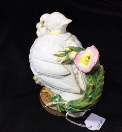 Moore Brothers 'Quail & Chick' teapot, circa 1870-27322