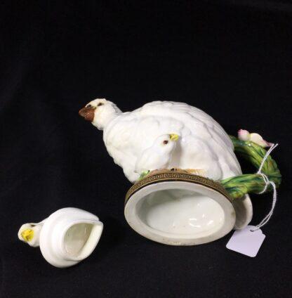 Moore Brothers 'Quail & Chick' teapot, circa 1870-27326