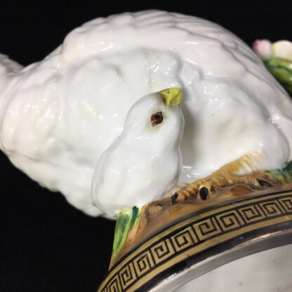 Moore Brothers 'Quail & Chick' teapot, circa 1870-27330