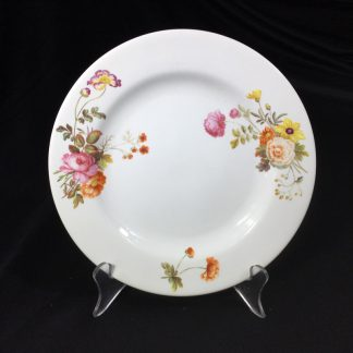 Swansea porcelain plate, flower sprays, c. 1820 -0
