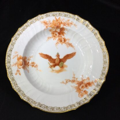 Berlin plate with imperial eagle, orb & sceptre, c. 1910-0