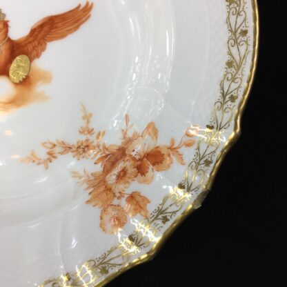 Berlin plate with imperial eagle, orb & sceptre, c. 1910-27588