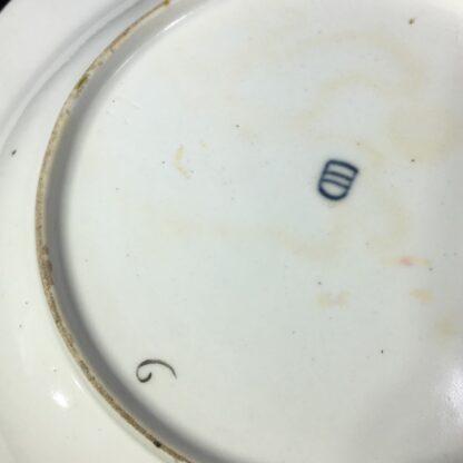 Vienna soup bowl, basketweave with flower dec, c. 1760 -27580