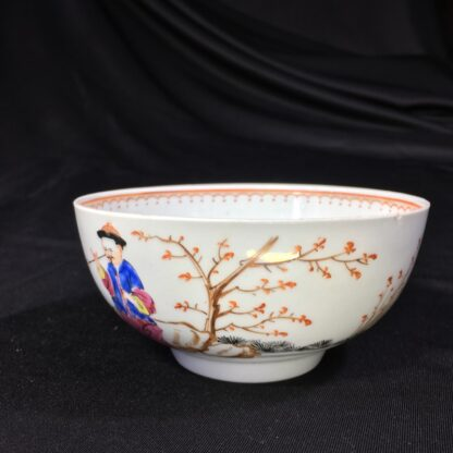 Worcester bowl, Chinese Family decoration, c. 1760-27460
