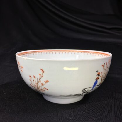 Worcester bowl, Chinese Family decoration, c. 1760-27458