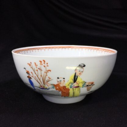 Worcester bowl, Chinese Family decoration, c. 1760-27463