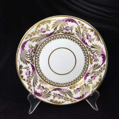 Derby cup & saucer & plate, pattern 52, circa 1820-27807