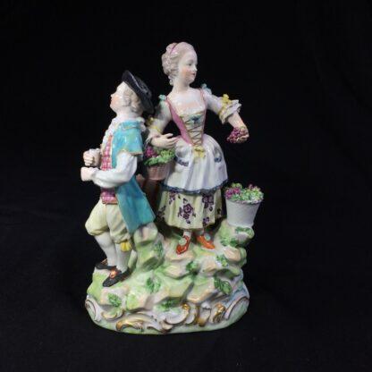 Derby figure group, The Vignerons, circa 1775-0