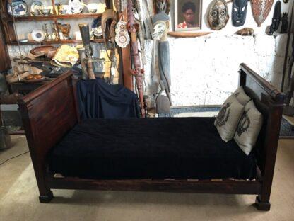 French Mahogany Empire single bed, c. 1820-29314