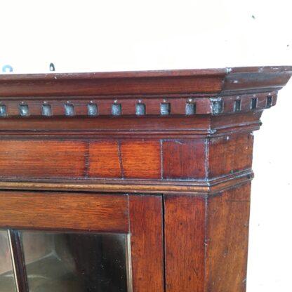 George III mahogany corner cabinet with astragal glazing, c. 1780-28509