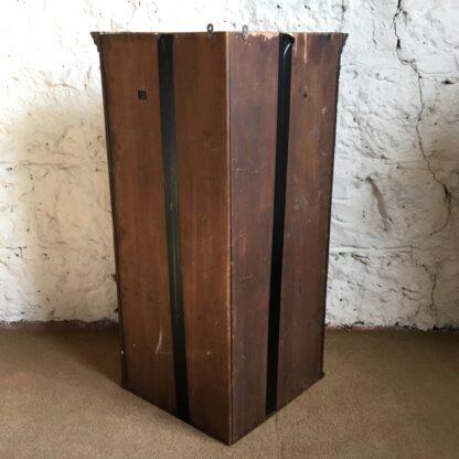 George III mahogany corner cabinet with astragal glazing, c. 1780-28510