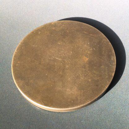Art Deco bronze medallion by Delannoy, Venus, mid 20th century -28540