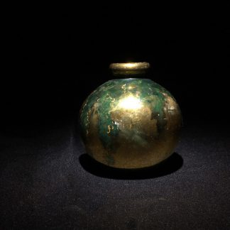 Small gold lustre vase, by Florence Royce, c. 1925 -0