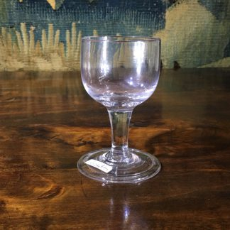 Late Georgian glass, early 19th century -0