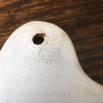 Copeland & Garrett creamware bin label, SHERRY c.1850 -29596