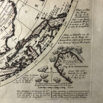 South Hemisphere map, Nouvelle Hollande, by Ottens, Amsterdam 1740 -30911