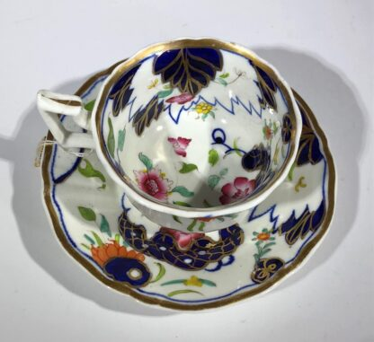 Imari decorated cup & saucer, possibly Grainger's Worcester, c.1835-30352