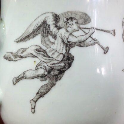 Worcester 'King of Prussia' bell shape mug, c. 1757-31016