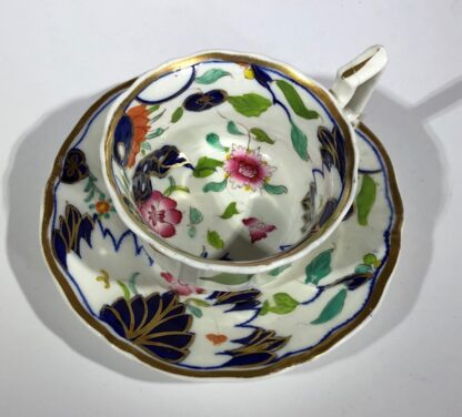 Imari decorated cup & saucer, possibly Grainger's Worcester, c.1835-30353