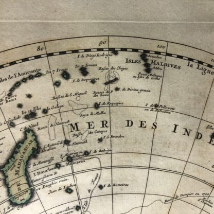 South Hemisphere map, Nouvelle Hollande, by Ottens, Amsterdam 1740 -30913