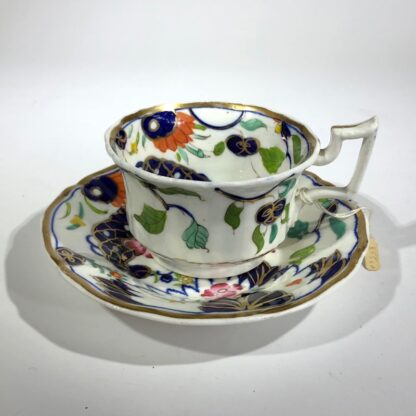 Imari decorated cup & saucer, possibly Grainger's Worcester, c.1835-30354