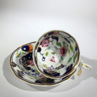 Imari decorated cup & saucer, possibly Grainger's Worcester, c.1835-30357