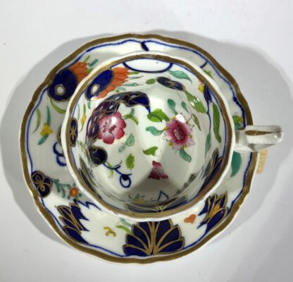 Imari decorated cup & saucer, possibly Grainger's Worcester, c.1835-30355