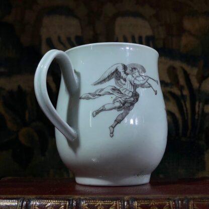 Worcester 'King of Prussia' bell shape mug, c. 1757-31006