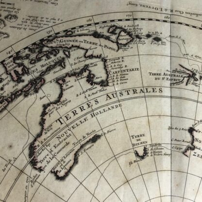 South Hemisphere map, Nouvelle Hollande, by Ottens, Amsterdam 1740 -30910