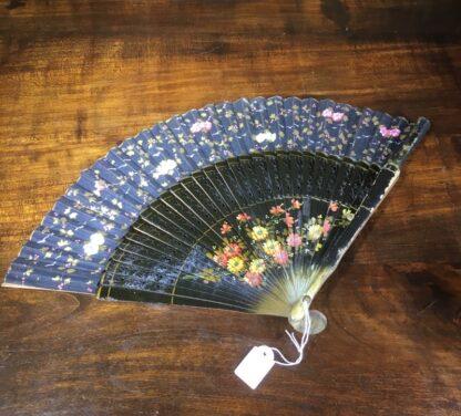 Deco hand painted fan, Spain, c. 1920-0
