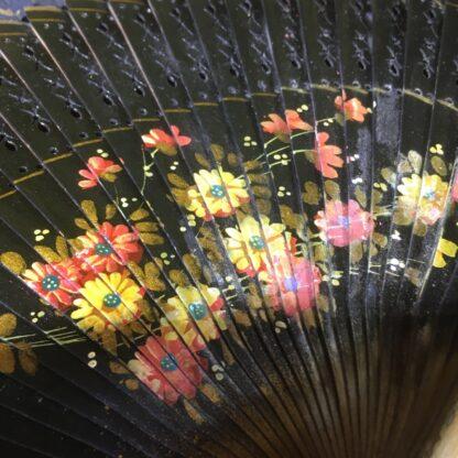 Deco hand painted fan, Spain, c. 1920-30198