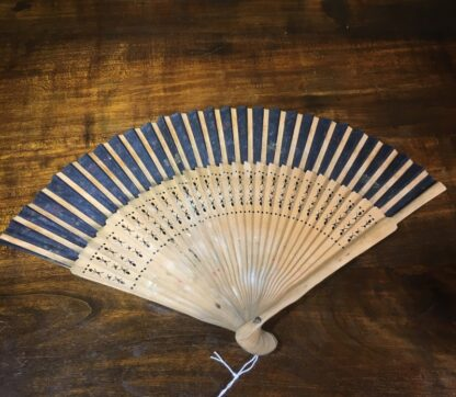 Deco hand painted fan, Spain, c. 1920-30195
