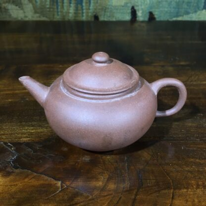 Small Chinese redware Yixing teapot, 20th C-30596