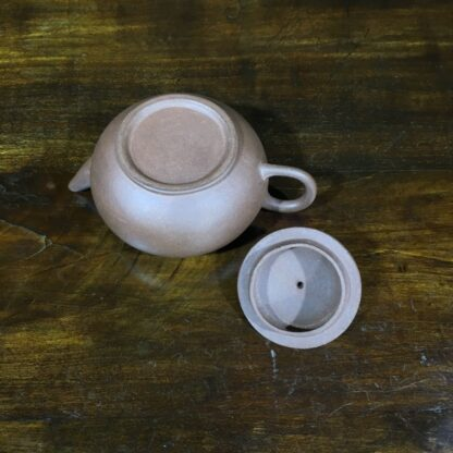 Small Chinese redware Yixing teapot, 20th C-30598