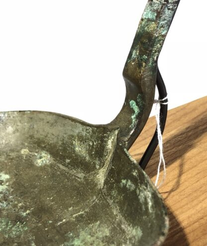 Chinese bronze ladle, Han dynasty, 206BC - 221 AD-31423