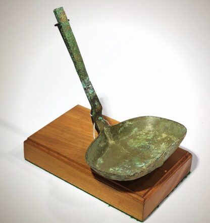 Chinese bronze ladle, Han dynasty, 206BC - 221 AD-0