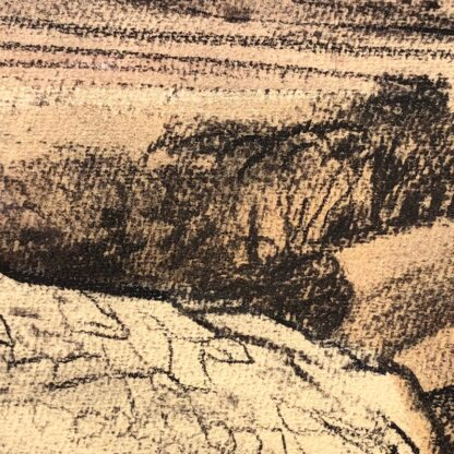 "Kenneth Jack pastel, ""Sacred Rock, Mootwingee"" c.1970 -31292"