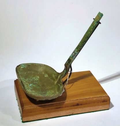 Chinese bronze ladle, Han dynasty, 206BC - 221 AD-31422