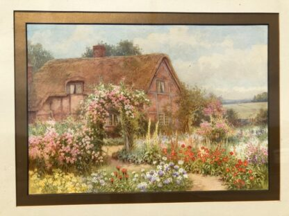 Affleck, William: A Country Cottage, watercolour circa 1870 -31526