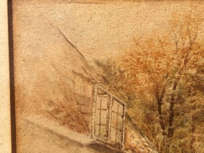 Birket-Foster, Miles:'The Thatched Cottage', Watercolour, later 19th century -31538