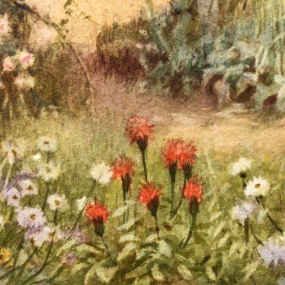 Affleck, William: Watering the Garden, Watercolour c. 1870-31533