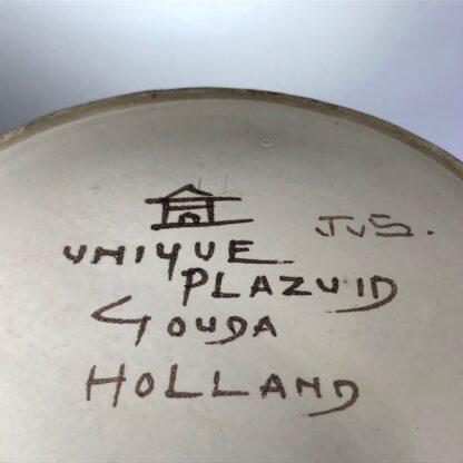 Large Gouda vase, signed by Johannes van Schaick, copper lustre c. 1930. -31498