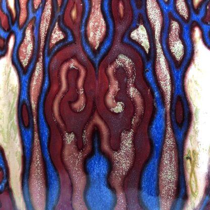 Large Gouda vase, signed by Johannes van Schaick, copper lustre c. 1930. -31497