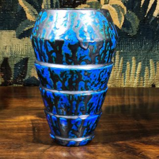 Belgian deco vase, Céramique de Bruxelles, c. 1925-0