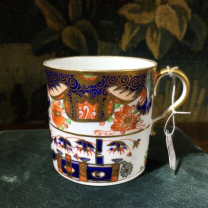 Handsome Imari pattern Spode coffee can, C. 1810-32196