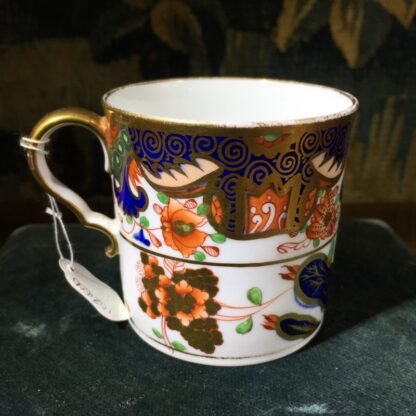 Handsome Imari pattern Spode coffee can, C. 1810-0