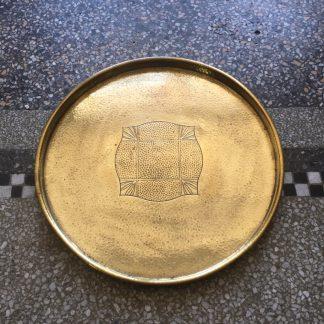 WMF brass tray, Circa 1915 -0
