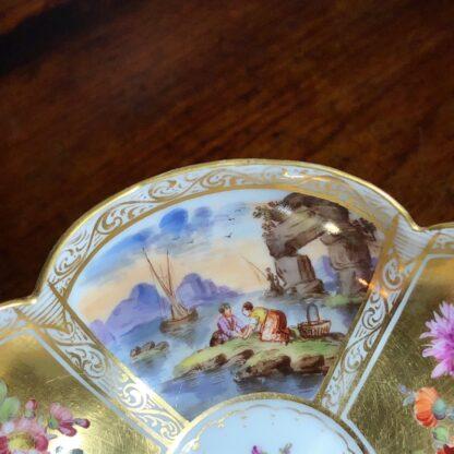 Helena Wolfson Dresden chocolate cup & saucer, Meissen style, c. 1880-33437