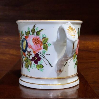 English porcelain presentation mug - Stephen Dickins, 1852 -33004