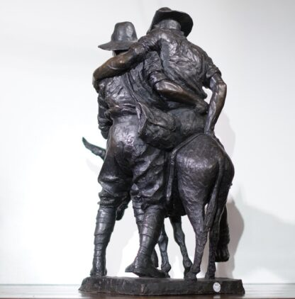 Simpson and his Donkey, ANZAC WWI memorial Bronze figure by Peter Corlett, 1988-33500
